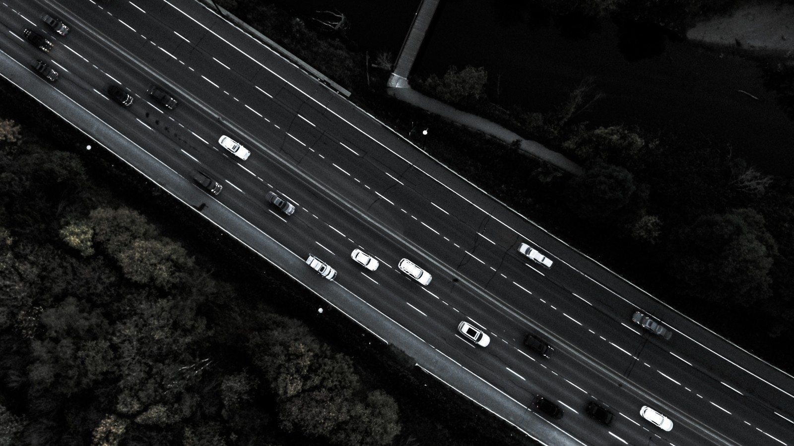 car-traffic-drone-view